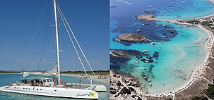 Formentera Catamaran excursion